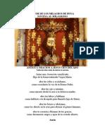 Novena Tradicional al Señor de los Milagroso