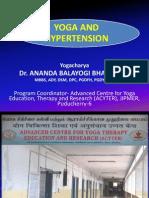 Yoga and Hypertension