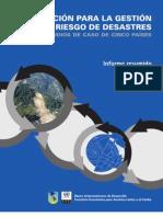 GRD20133_tema025_01_INFORMACIÓN PARA LA GESTIÓN DE RIESGO DE DESASTRES