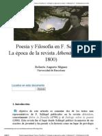 Roberto Augusto Míguez_ Poesía y Filosofía en F
