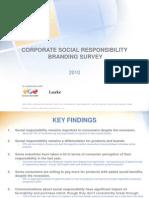 Corporate Social Responsibility Branding Survey