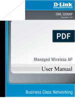 D-Link DWL-3200AP Manual Guide