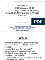 GP6 Seismic Design Criteria Salmon