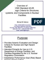 GP6 Seismic Design Criteria Salmon