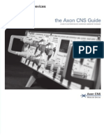 The Axon CNS Guide to Electrophysiology and Biophysics