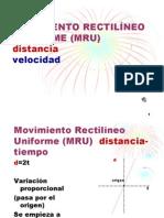U2 MOVIMIENTO Y SUS GRÁFICAS (MRU)