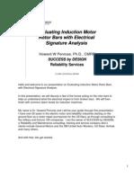 Evaluating Induction Motor Rotor Bars
