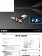 Desktop Adapter D-Link DWA-520 Manual Guide