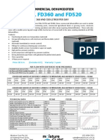 Fral FD360 and FD520 Spec Sheet