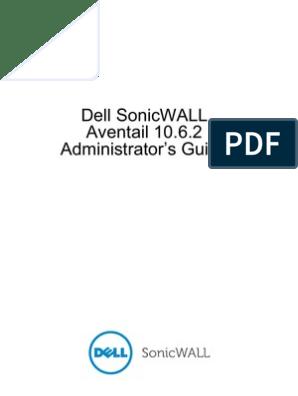 Dell SonicWALL E-Class SRA 10 6 2 Admin Guide | Proxy Server