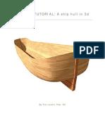 Lofting Tutorial - A Ship Hull in 3d
