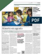 Abierto en Agosto - El Periódico 04/06/2013