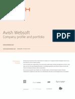 Avish Websoft Portfolio