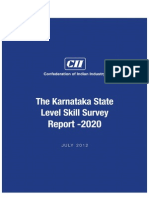 Karnataka State Level Skill Survey Report