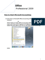 Microsoft Office Accounting 2009
