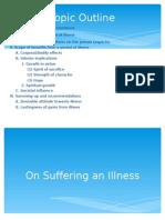 Essay Presentation (on Suffering an Illness)