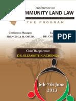 Community Land Law Programme