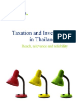 Taxation and Investment in Thailand 2012 - Deloitte