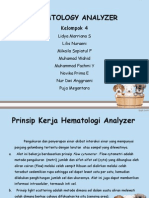 Hematology Analyzer Ppt