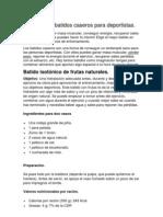 Los Mejores Batidos Caseros Para Deportistas 05042013