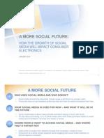 Social Media Impact On Consumer Electronics