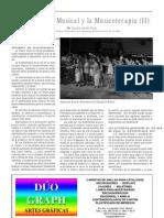 La Educación Musical y la Musicoterapia (II), por Claudia Ibáñez
