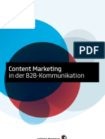 Content Marketing in der B2B-Kommunikation