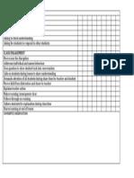 Questioning Engagement Checklist