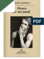 Deseo Ser Punk