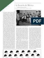Sobre la Escuela de Música, por Jesús Rodríguez Azorín