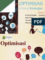 Optimisasi Di Bidang Keuangan (Presentasi)