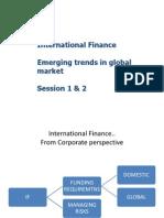 International Finance 1 & 2 Revised