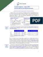 Financiación de las empresas preocupación prioritaria (Así está la Empresa Mayo 2013)
