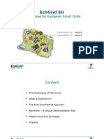 EcoGrid EU - A Prototype for European Smart Grids