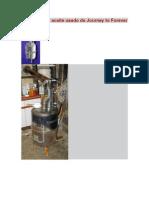 Calefactor de Aceite Usado de Journey to Forever
