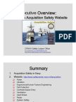 acquisition_safety_executive_overview