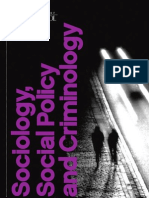 University of Liverpool Sociology, Social Policy and Criminology Department Guide 2011