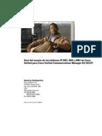 Manual de Instrucciones Telefono Cisco CP6921 Bajado 20marzo2013
