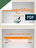 Kassasturz Kärnten - Juni 2013