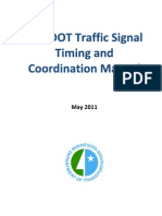 Traffic Signal Timing and Coordination Manual 2011