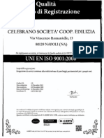 Certificato ISO 9001-2008