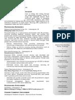 (c) Ladybug Design - Medical Billing Sample Resume