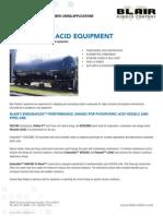 Phosphoric Acid Applications