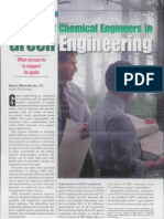 The Role of Chemical Engineers in Green Engineering.