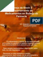 manejodestockyalmacenamientodemedicamentosenbodegadefarmacia-110728081805-phpapp01