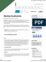 Banking Vocabularies » BankInfoBD