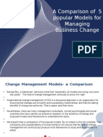 Strategic Change Management Models