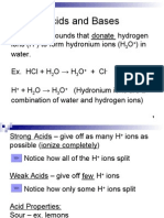 Acids and Bases 2