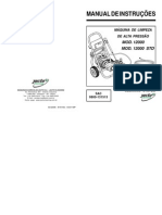 Jactoclean 12000 Manual de Instruções