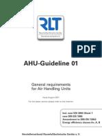 RLT Richtlinie01 AHU Guideline01